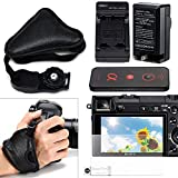 Sony Camera Charger (1), Screen Protector (1) Wireless Remote Control (1) & Handheld Strap – Accessory Pack