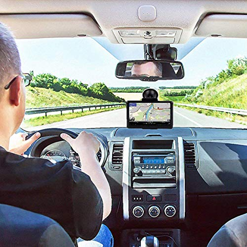 Car GPS, 7 inches 8GB Navigation System for Cars Lifetime Map Updates Touch Screen Real Voice Turn-to-Turn Vehicle GPS Navigator