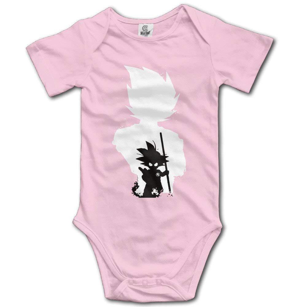 Cap shorts Baby Boys Girls Short Sleeve DBZ Goku Funny Bobysuit