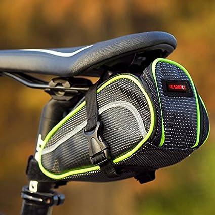 Amazon.com: Bazar leadbike bicicleta parte posterior Bolsa ...