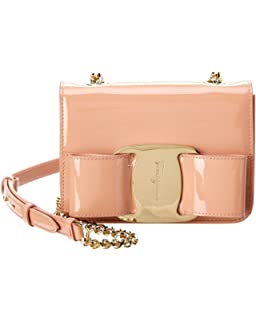 Amazon.com  Salvatore Ferragamo Women s Miss Vara Cross Body Bag ... 4da5029528526