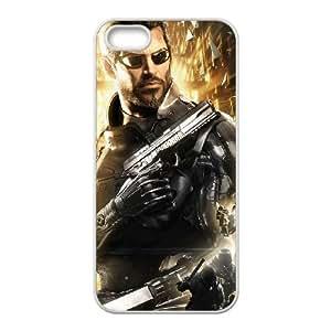 Deus Ex Mankind Divided 3 funda iPhone 4 4s caja funda del teléfono celular del teléfono celular blanco cubierta de la caja funda EEECBCAAB09788