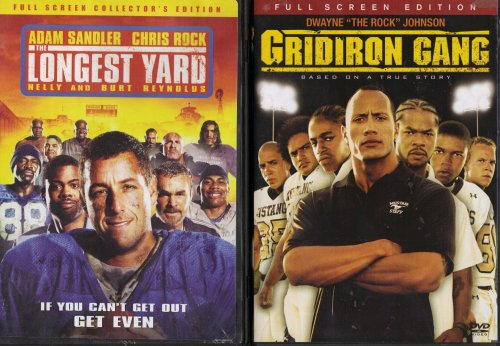 Gridiron Gang, the Longest Yard : Prison Football 2 Pack Collection