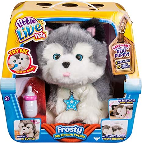 57c9591350f1 Image Unavailable. Image not available for. Color: Little Live Pets Frosty My  Dream Puppy