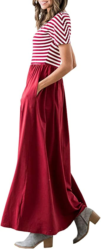 Womens Summer Maxi Dresses Petite Fall Wedding Guest Long Dress Red S Amazon Co Uk Clothing,Wedding Ceremony Blazer Wedding Dresses For Men