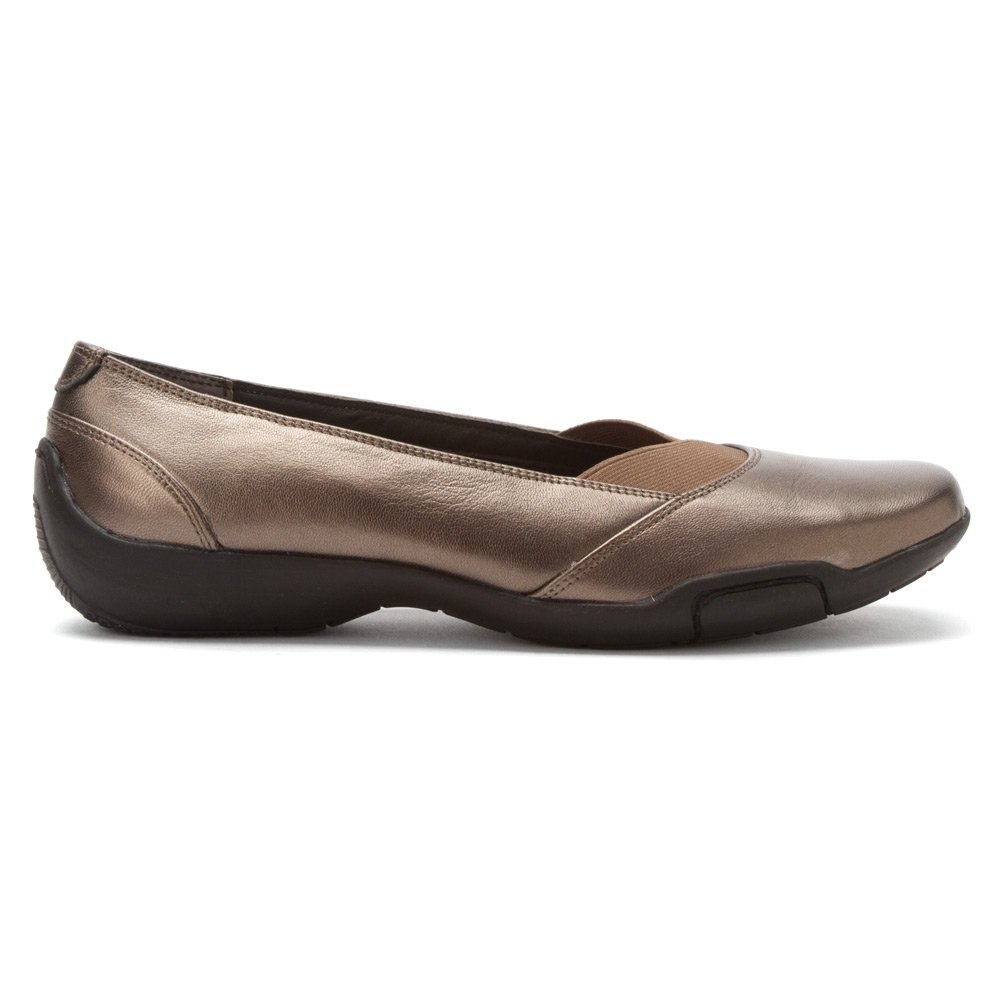 Ros Hommerson Cady N/S Round Toe Canvas Flats B00FVY47VS 8 N|Pewter Metallic