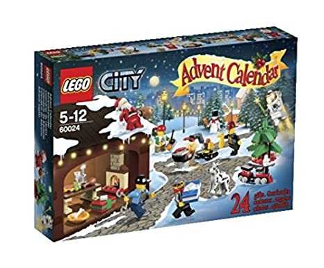 Amazon.com: LEGO City Advent Calendar 60024 (Discontinued by ...
