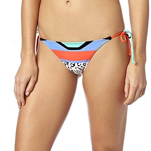 Fox Mujer Bikini estéreo Side Tie BTM Naranja - Flo Orange