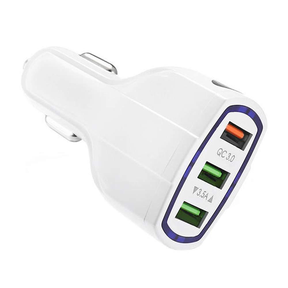 Desconocido QC3.0 - Cargador de Coche con 3 Puertos USB para ...