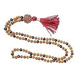 Rosary Healing Yoga Beads Necklace SUN Energy Prayer Rosary Japamala Jewelry Gift For Her