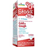 Boiron Children's Stodal Cold & Cough Multi-Symptom Syrup, 125 ml, Homeopathic Medicine for cold symptoms such as nasal congestion, runny nose, sneezing; minor sore throat, dry or wet cough, chest congestion