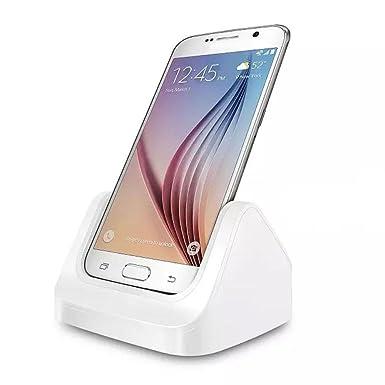 Teléfono celular móvil, ftxj cuna cargador Dock + cable USB ...