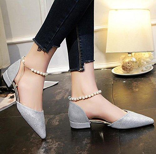 Estilo Palabra A Zapatos Hebilla Las De La Mujeres Sandalias Aumentaron Moldeadas UgdS5w5xq
