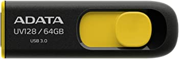 ADATA AUV128-64G-RBY 64GB USB 3.0 Flash Drive