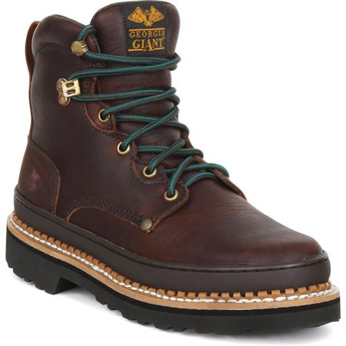 Brown Boot Men's G6374 Giant Georgia Work Georgia Boot Soggy 8SOqRwHU
