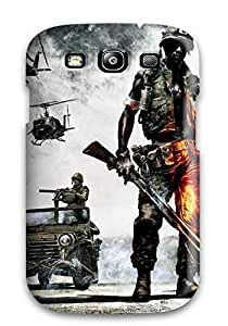 New Snap-on CaseyKBrown Skin Case Cover Compatible With Galaxy S3- Battlefield Bad Company 2 Vietnam