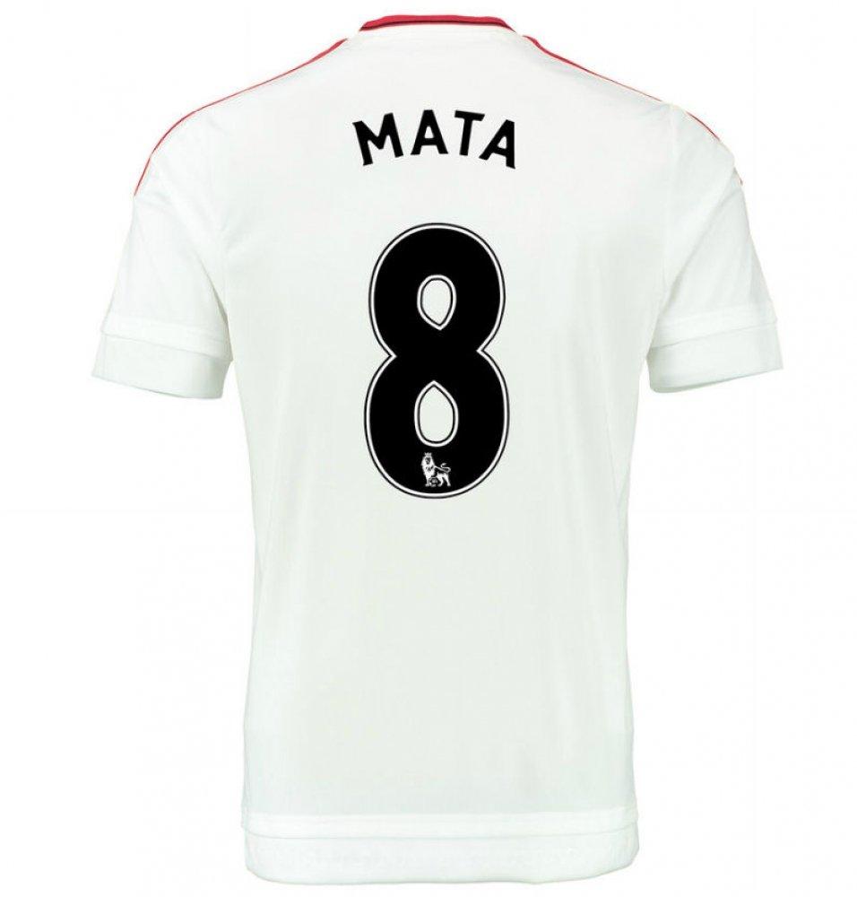 43c2bb969a3 2015-2016 Man Utd Away Football Soccer T-Shirt (Juan Mata 8) - Kids   Amazon.co.uk  Sports   Outdoors