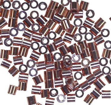 2x2mm Copper Crimp Genuine Real Beads Usa Made (Wholesale Beads Usa)
