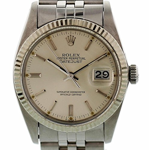 Rolex Datejust Automatic-self-Wind Mens Watch 16014 (Certified (Pre Owned Mens Rolex)