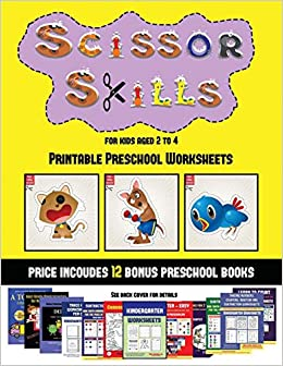 picture regarding Printable Preschool Books referred to as Printable Preschool Worksheets (Scissor Techniques for Youngsters Outdated