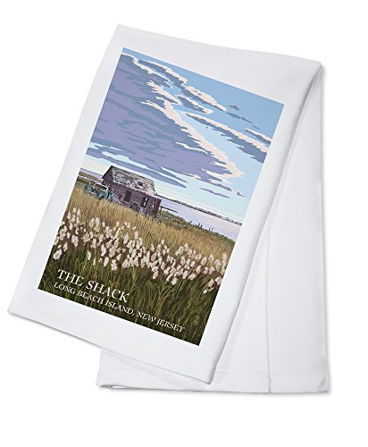 Long Beach Island, New Jersey - The Shack (100% Cotton Kitchen Towel)