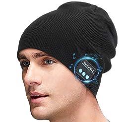 Miserwe Wireless Beanie Hat V5.0 Unisex ...