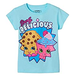 Shopkins Little Girls' Kooky Cookie and Cupcake Chic Tee (4)