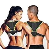 ExoMend Posture Corrector for Men & Women | #1 Best Unisex Back & Shoulder Support Brace | Model X: The Ultimate Posture Trainer