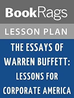 the essays of warren buffett amazon