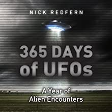 365 Days of UFOs: A Year of Alien Encounters Audiobook by Nick Redfern Narrated by Patrick Freeman