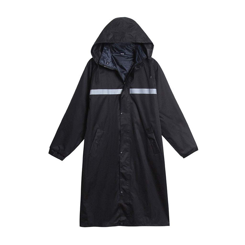 234d7088c Amazon.com: Rain Suit Waterproof Set Men and Women Long Adult One-Piece  Raincoat Single Walking Outdoor Thick Waterproof Riding Rain Gear  Lightweight Rain ...