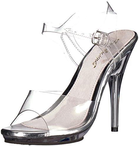 Fabulicious Damen Poise-508 Sandale, Transparent
