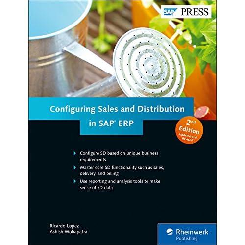Amazon. Com: configuring sap erp sales and distribution ebook.