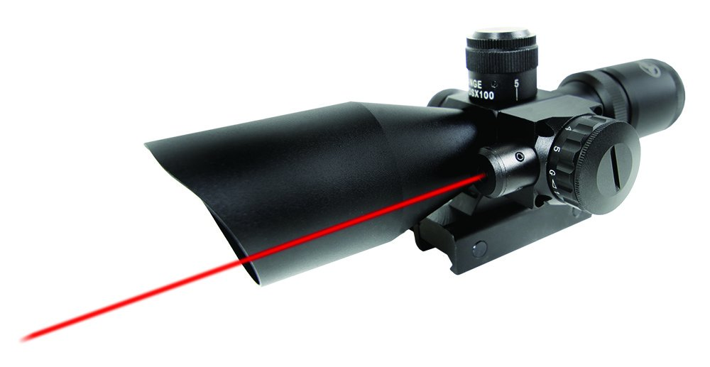 Firefield 2.5 Riflescope with Red Laser FF13011