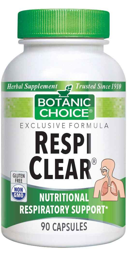Botanic Choice Respi Clear, 90 Capsules by Botanic Choice