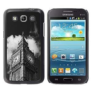 TopCaseStore / la caja del caucho duro de la cubierta de protección de la piel - Architecture Big Ben Close Up London - Samsung Galaxy Win I8550 I8552 Grand Quattro
