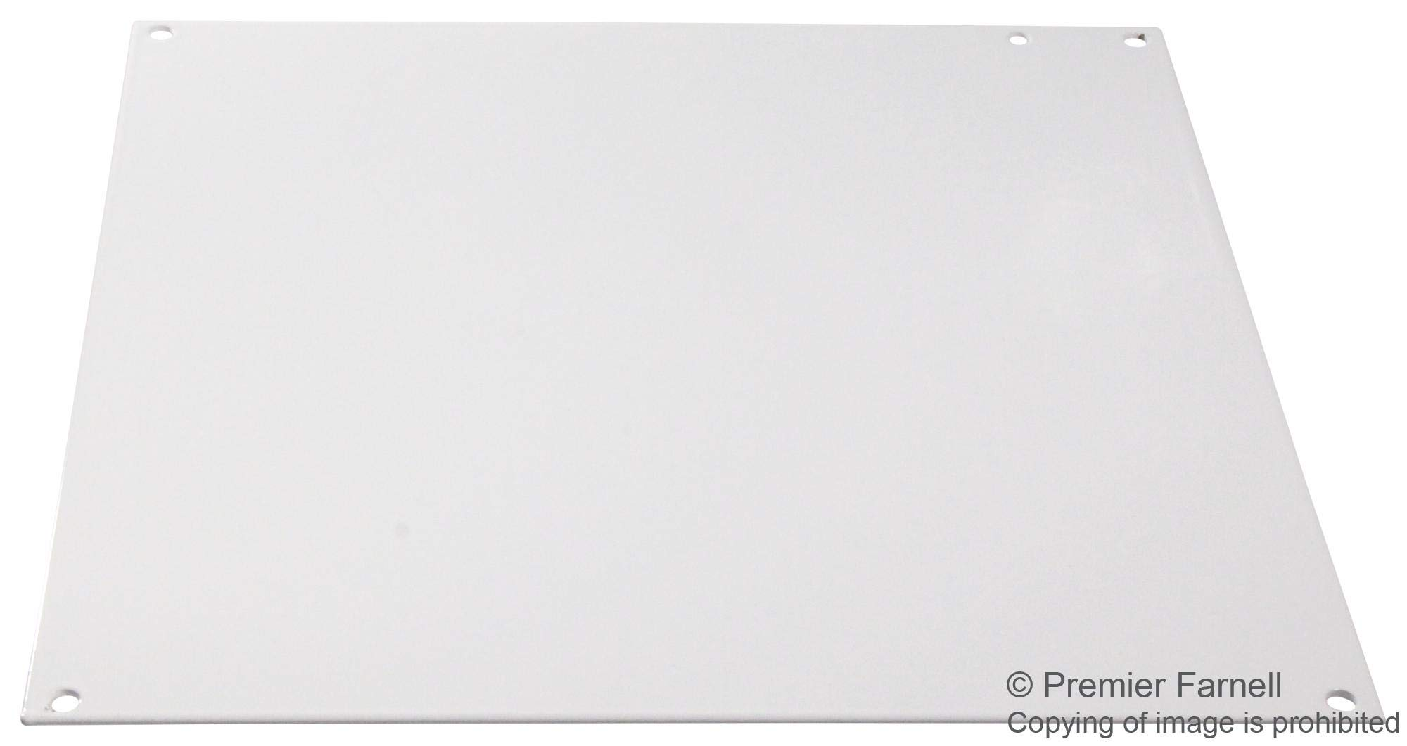 A12P12 - Panel, 14 Gauge, Steel, White, Junction Boxes, 273 mm, 276 mm (Pack of 2) (A12P12)