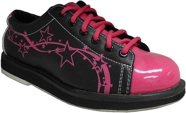 Pyramid Womens Rise Black//Hot Pink Bowling Shoes