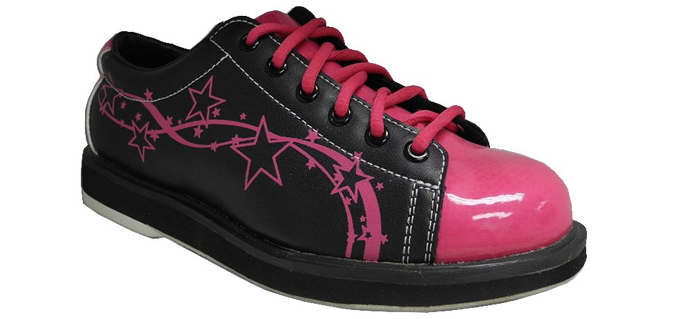 Pyramid Women's Rise Black/Hot Pink (Size 6)