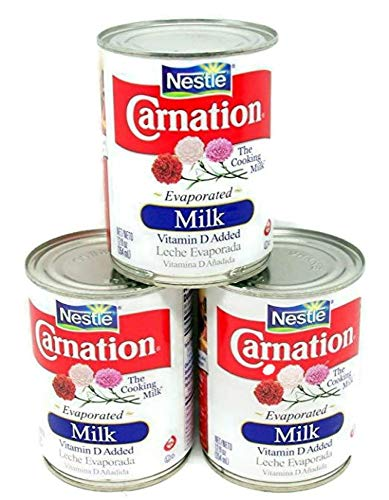 Nestle Carnation Evaporated Milk - The Cooking Milk 3 (12 oz.) Cans