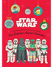Star Wars: The Galactic Advent Calendar: 25 Days of Surprises With Booklets, Trinkets, and More! (Official Star Wars 2021 Advent Calendar, Countdown to Christmas)