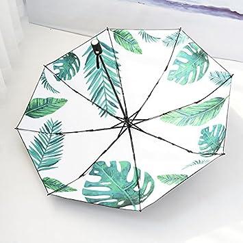 Xue-zhenghao Paraguas Plegable Paraguas De Sol Y Lluvia Doble Sol Paraguas Anti - Radiación
