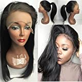 Aliceprincess High Ponytail Full Lace Wigs Silky Straight...