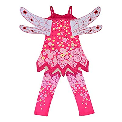 Dressy Daisy Girls' Fairy Fancy Dress Costume Birthday Halloween Christmas Fancy Party Outfit with Wings: Clothing