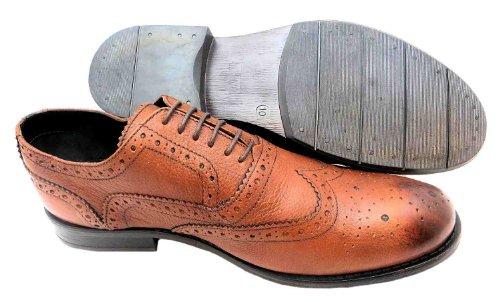 PSL  Sm 1286, Chaussures de ville à lacets pour homme Marron marron