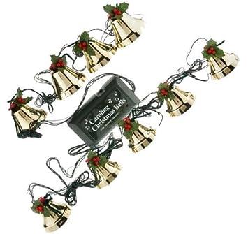 Amazon.com: Caroling Christmas Bells - 9 Piece Pre-Tuned Musical ...