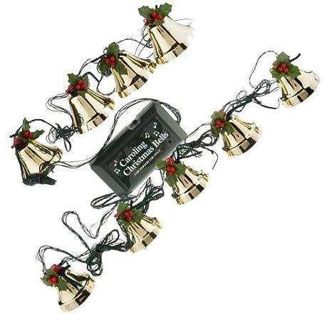 caroling christmas bells 9 piece pre tuned musical bells strand