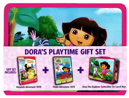 Dora's Playtime Gift Set -