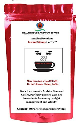 Skinny Coffee Blended Premium Instant Coffee from Health ...