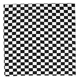 osfanersty 55 x 55 cm Blanco Negro Unisex Square Cinta para el ...